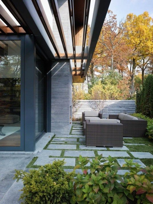 Toronto Residence Outdoor Living Space