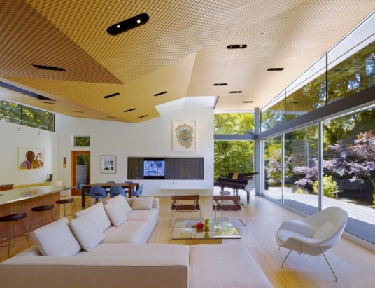 Ross Residence Design Living Area