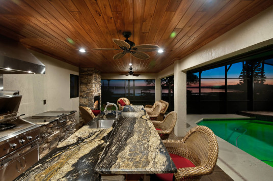 Fascinating Outdoor Kitchen Dining Room Great Art Harding Construction