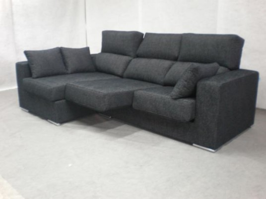 Amazing Modern Style Black Sofas Baratos Provides Dashing Effects
