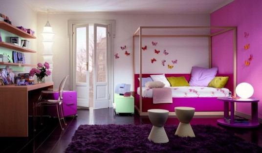 Beautiful Kids Bedroom Ideas For Girl Modern Learning Desk