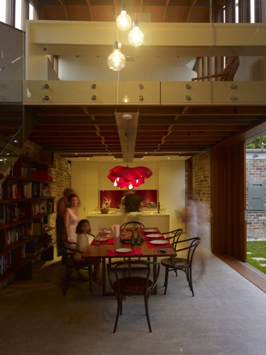 Cowshed House Design Dining Room
