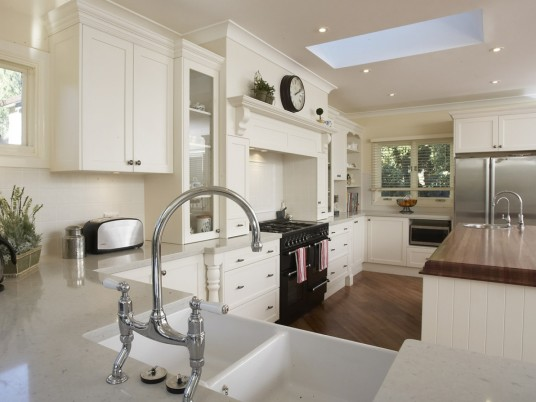 Design Your Own Kitchen White Cabinet Marble Countertop