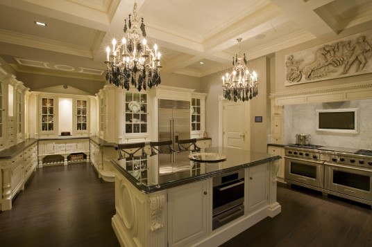 Luxury Design Your Own Kitchen White Kitchen Cabinet Beautiful Chandelier