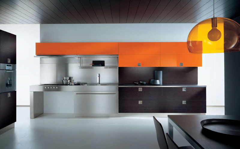 Wonderful Minimalist Modern Style Italian Kitchen Design Ideas
