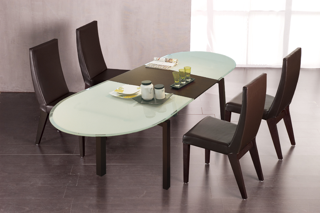Wonderful Modern Brown Affordable Modern Furniture Glasses Table