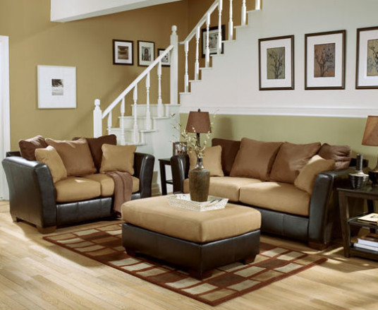 Wonderful Modern Style Brown Color Sofa Warehouse Design