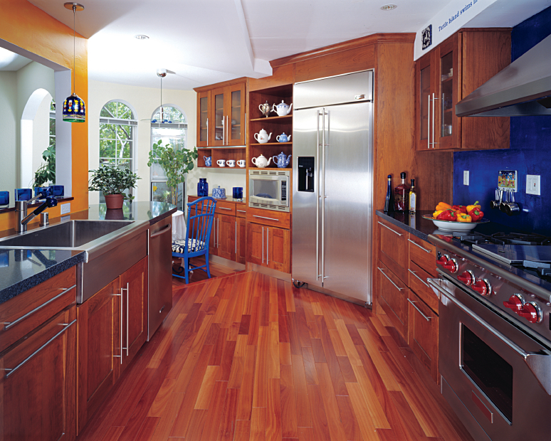 Wonderful Wooden Style Kitchen Cabinets Pictures Granite: house beautiful kitchen of the year 2013