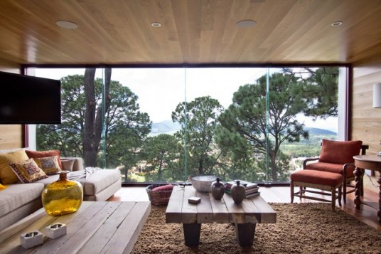 Forest House Design Interior
