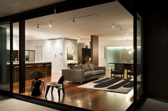 Glendowie House Design Living Area