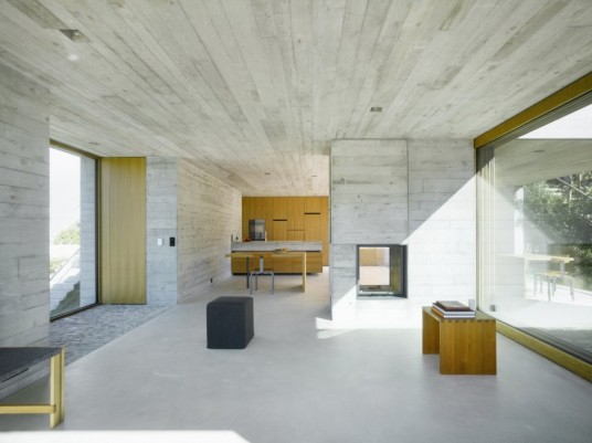 New Concrete House Design Interior Design