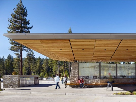 Tahoe City Transit Center Design
