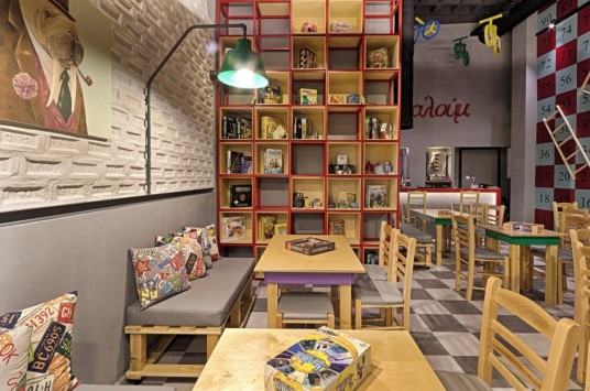 Alaloum Board Game Cafe Chairs
