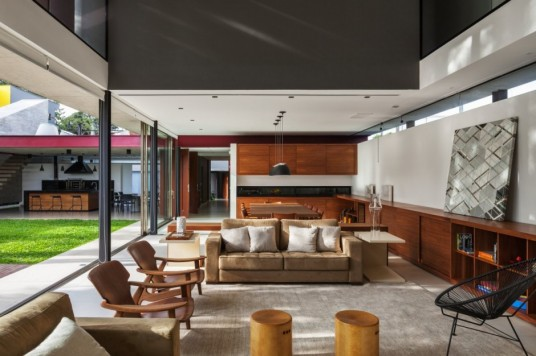 Planalto House Design Living Area