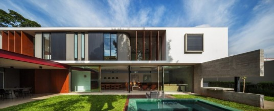 Planalto House Design Pool