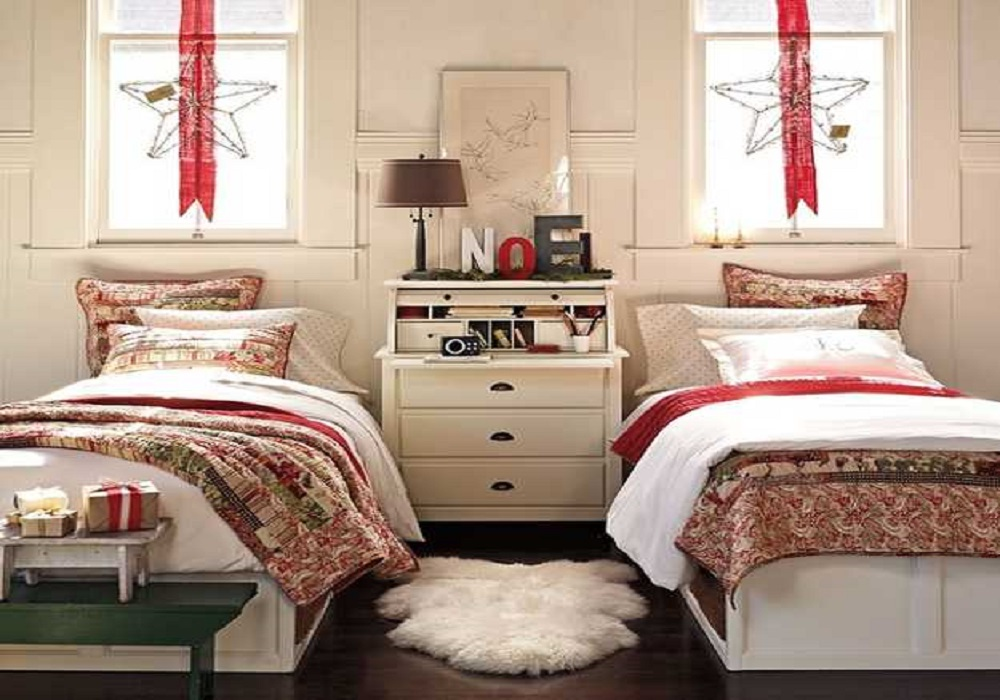 christmas light bedroom design