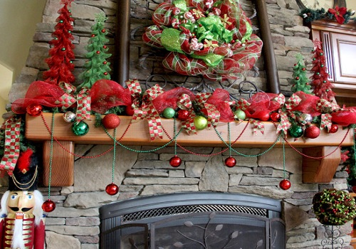 christmas ribbon decorating ideas