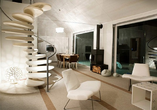 modern architecture and furniture