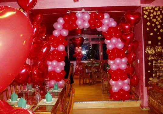 valentine day decorations at home