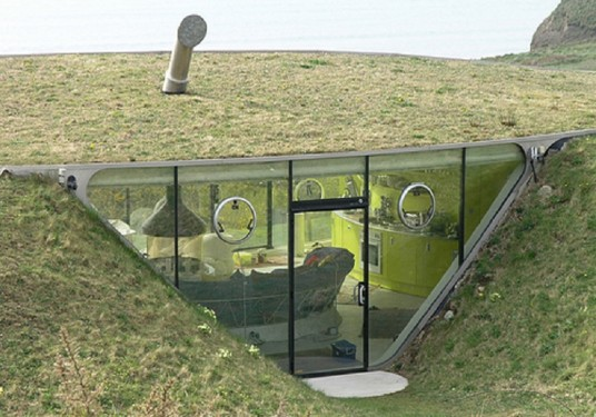 underground home architecture pictures
