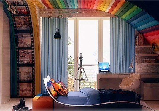 design interior rainbow