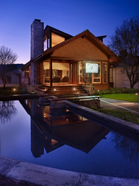 Evening View of Reading Home Designed