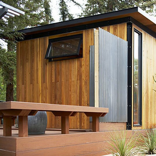 Exterior Box Home Design By Mork-Ulnes Architects