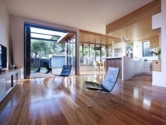 Interior Clifton Hill House Design By Nic Owen Architects