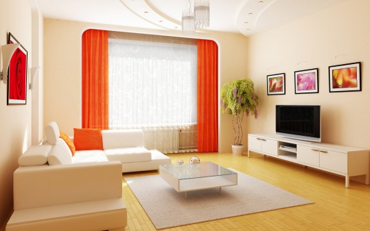 Living Room Designed