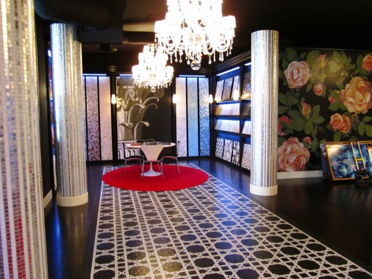 Los Angeles Flagship Showroom with Mosaic Walls Design