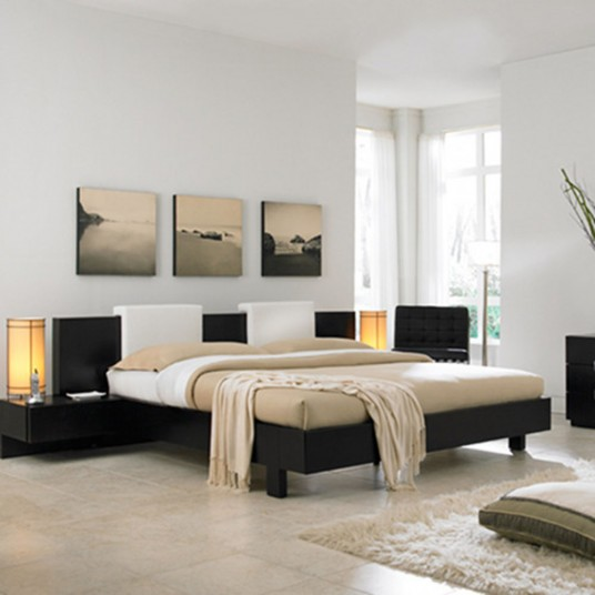 Well Designed Smart Bedroom And Natural Colour