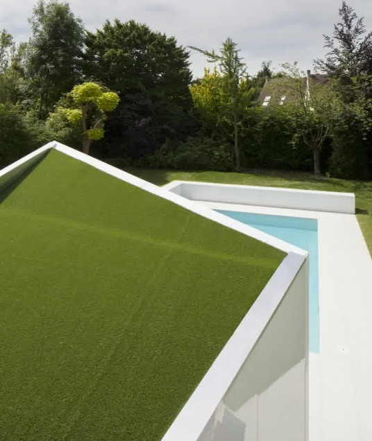 Green Roof Design in Deep Home Architecture