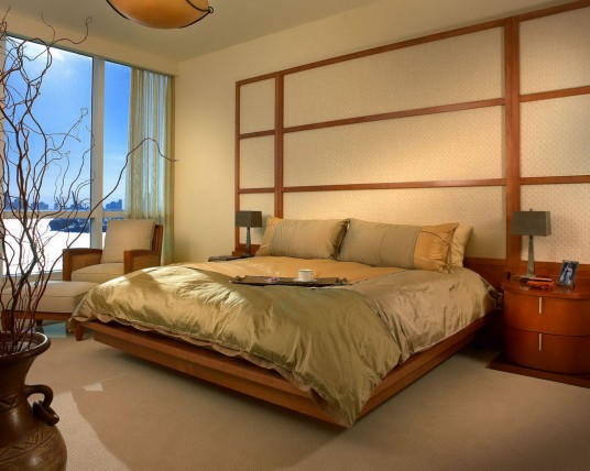 Master Bedroom Decorating Ideas with Soft Bed
