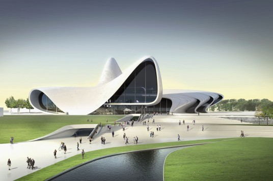 Zaha Hadid Building Cultural Center