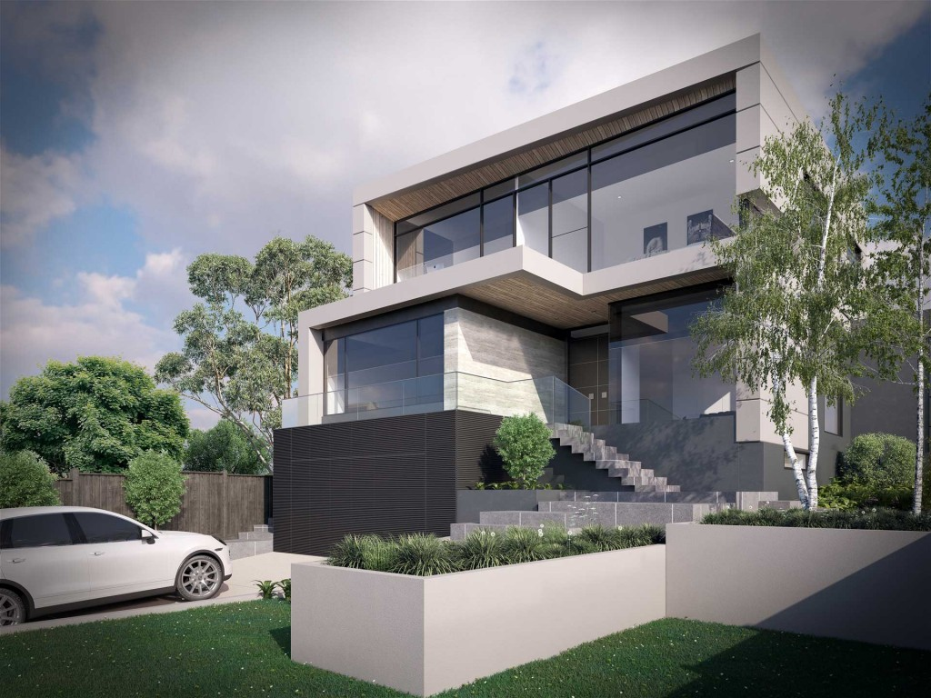 Modern residential architecture viahouse com for Contemporary residential architecture