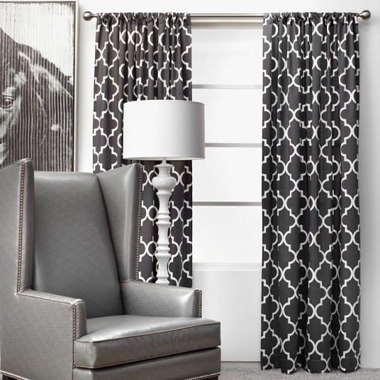 z gallerie curtain