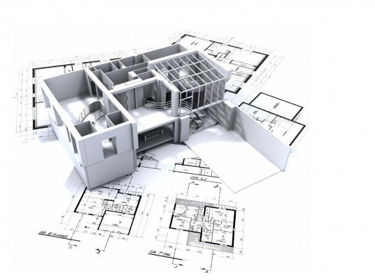 3D Architectural Modern House Drafting