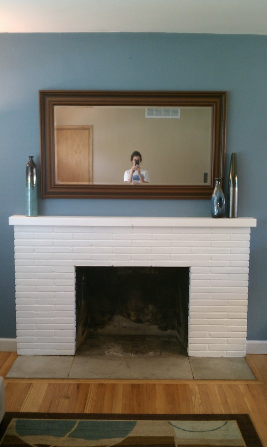 Fireplace After Makeover