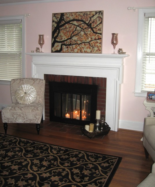 Fireplace Make Over New Design and New Fire System