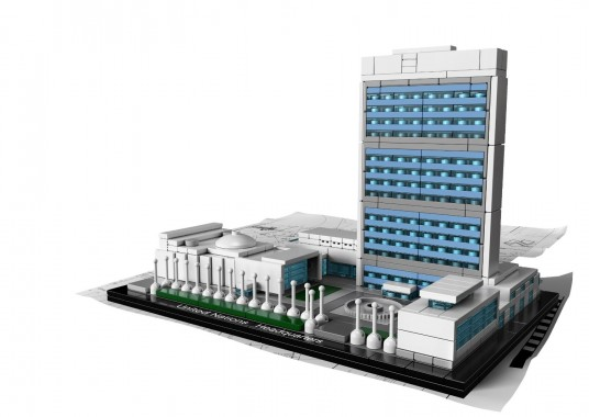 United Nations Headquarters Lego
