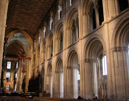 Peterborough Interior By Romanesque Architecture