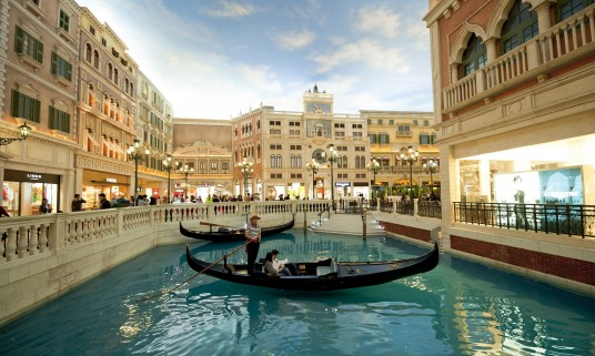 The Venetian Hotel and Casino in Macau