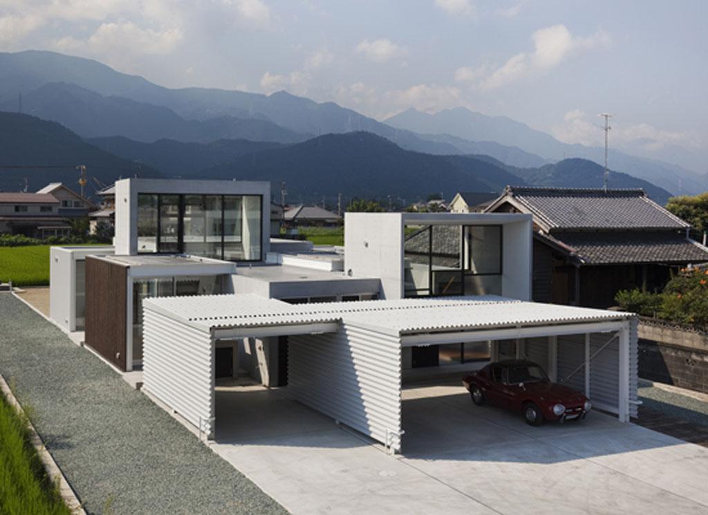 Modern Japanese House Design Kazujuki