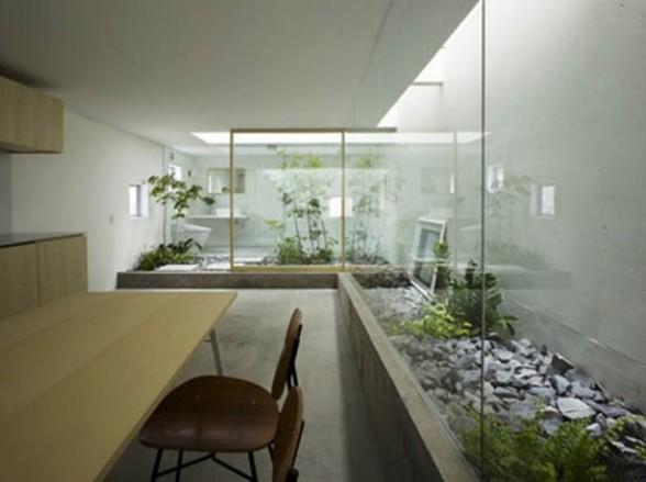 Floral Japanese Bathroom Design