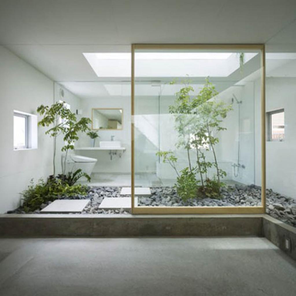 Japanese garden house decor