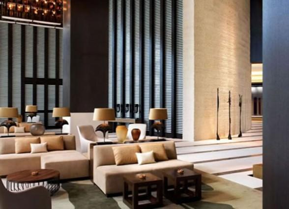 . contemporary hotel decor