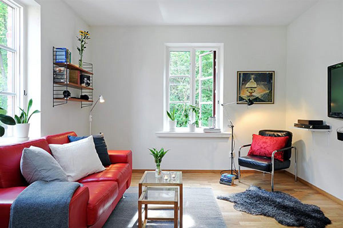 Small Space Apartment – Livingroom