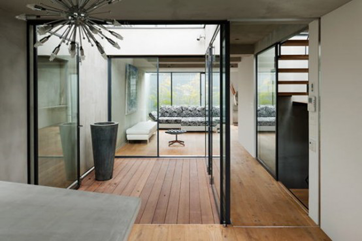 Modern Japanese Townhouse Architecture By Keiji Ashizawa Alley