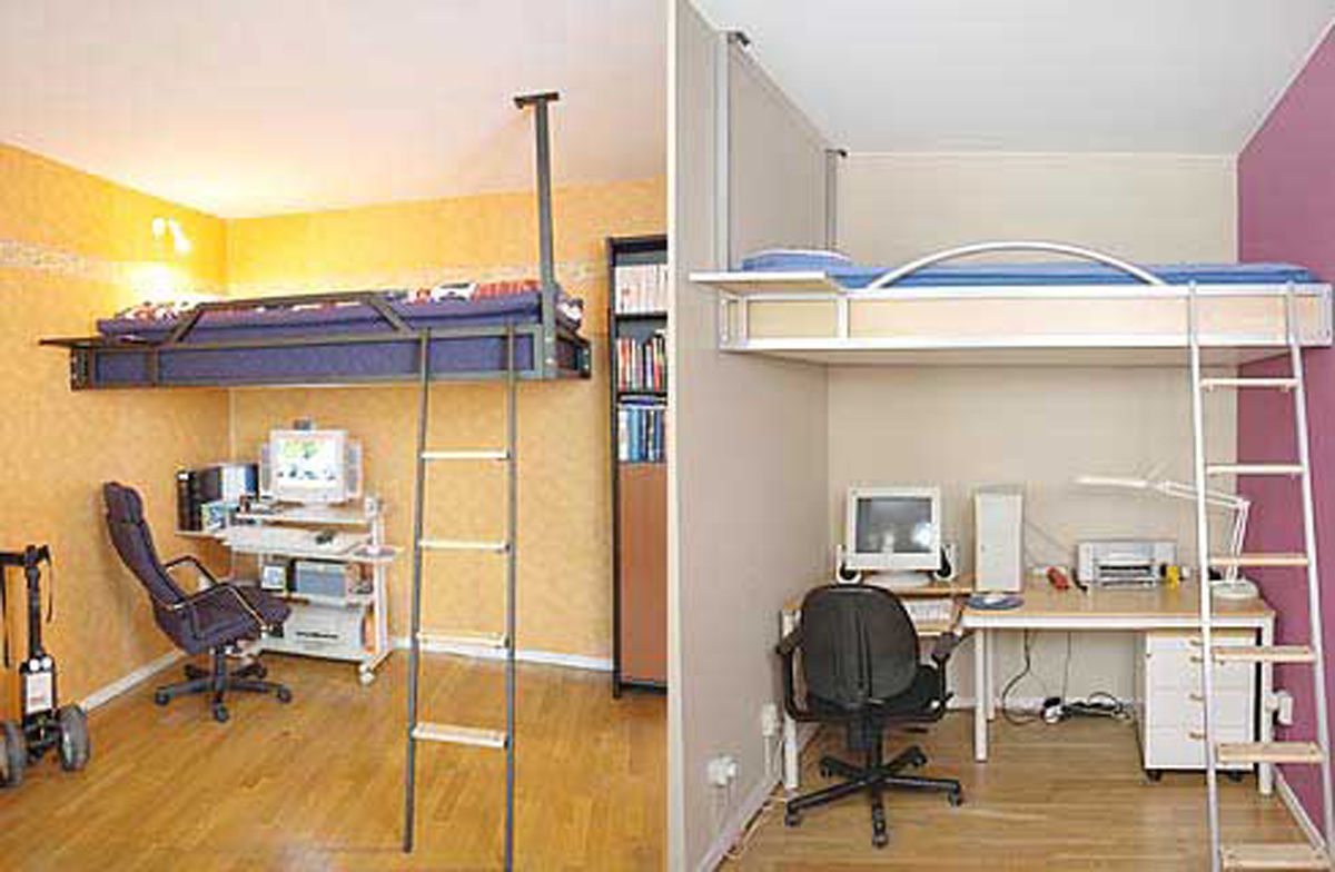 Compact Living Ideas For Small Sized Apartments In Working Desk