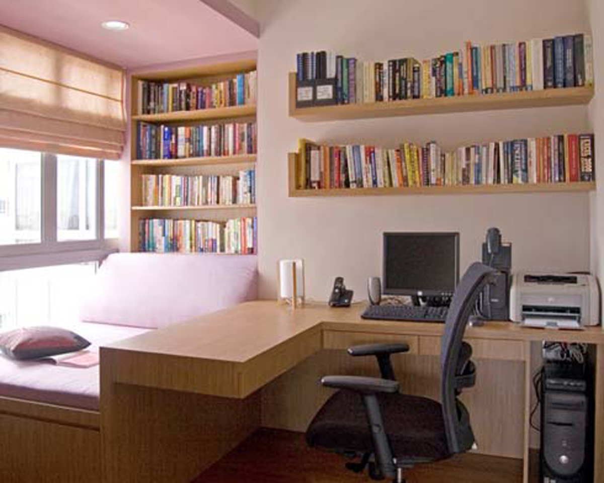 Cozy Apartment Ideas in Small Space Area – Working Space